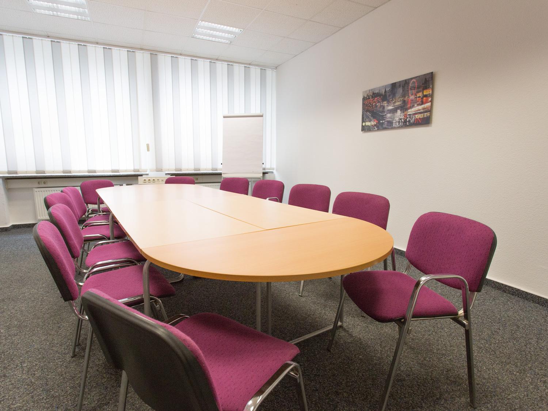 Konferenzraum für Schulungen und Besprechungen in Essen