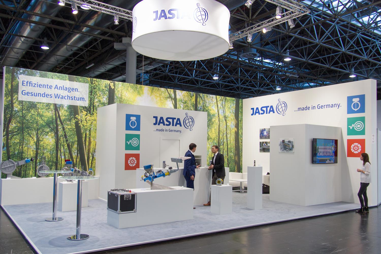 Industriemesse Aluminium Düsseldorf Standbau