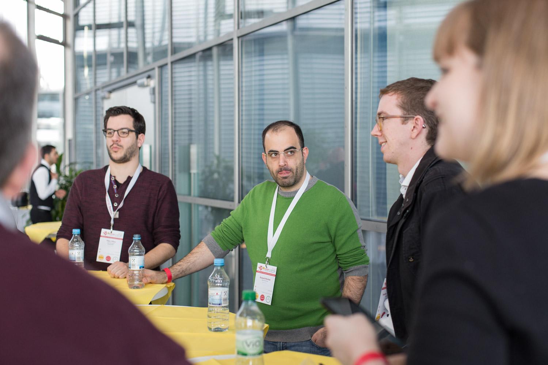 Das WordPress Meetup Bonn wird im Foyer des Post-Towers gegründet.