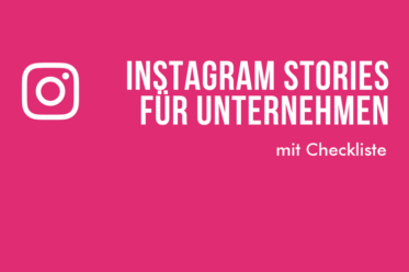 Instagram Stories für KMU