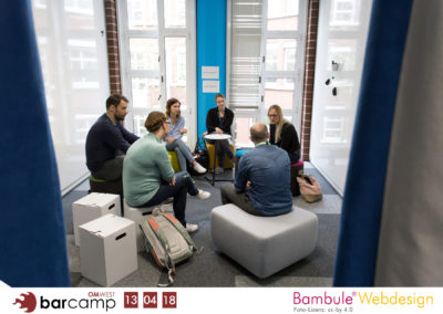 Online-Marketing-Barcamp OMWest am 13.04.18