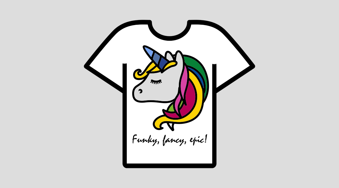 Funky, fancy, epic! Merch by Amazon