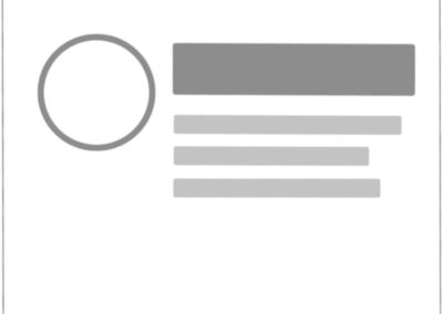 Ausrichtung des Icons an Headline und Teaser-Text