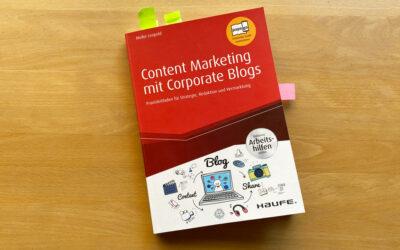 Buchrezension: Content Marketing mit Corporate Blogs